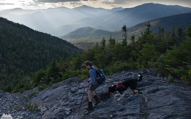 Sunset over South Dix Mountain - Dix Mountain Wilderness