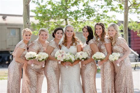 Rent the Runway Sequin Bridesmaid Gown   Kelly in the City