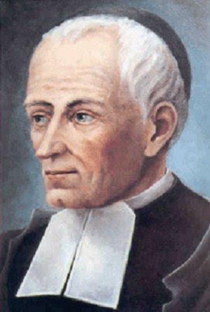Bienheureux Scubilion (Jean-Bernard Rousseau). Frère des Écoles Chrétiennes († 1867)
