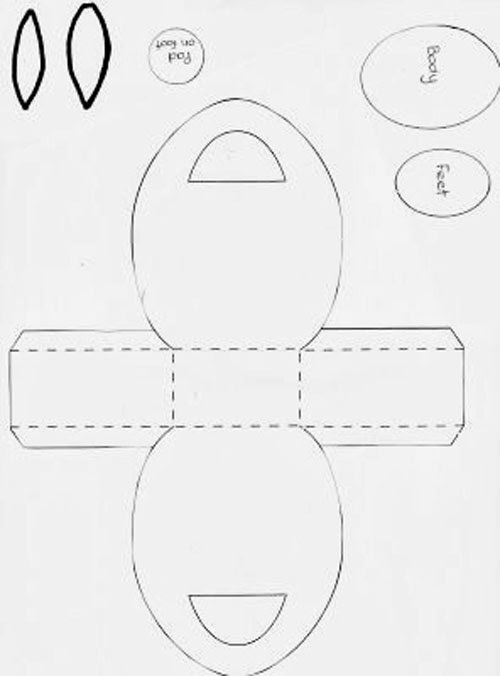 passo a passo cestinha pascoa papel coelhinho bombons cartao tag (1)