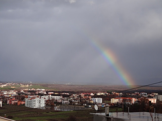 Rainbow over Medjugorje