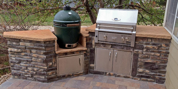 Big Green Egg Outdoor Kitchen Design Kitchen Appliances Tips And