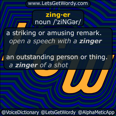 zinger 12/13/2016 GFX Definition
