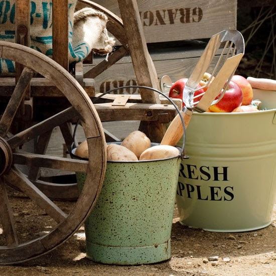 Apple bucket | Country garden design | Garden buys | Garden | PHOTO GALLERY | Housetohome