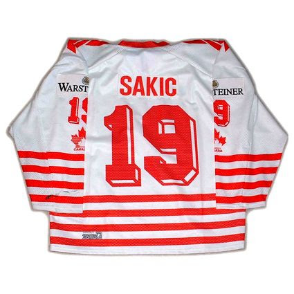 1994 Canadian National Team Joe Sakic Jersey