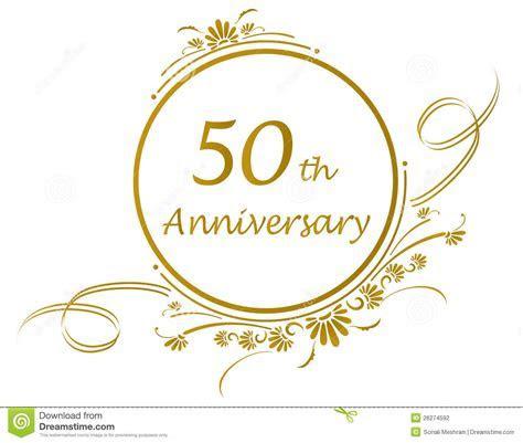 Clipart: 50th Wedding Anniversary ? 101 Clip Art