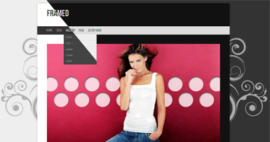 Framed redux Free WP Theme