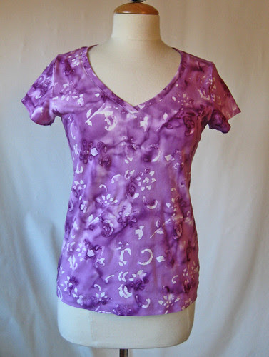 Jalie V-neck T-shirt