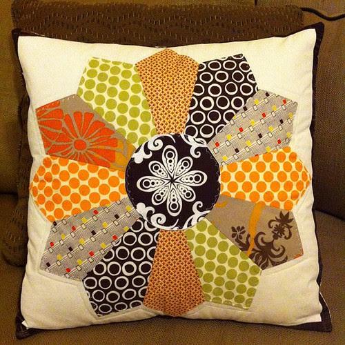 A little fall pillow