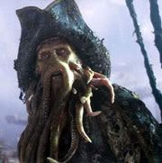 Bill Nighy as Davy Jones in 'Pirates of the Caribbean: Dead Man's Chest'.