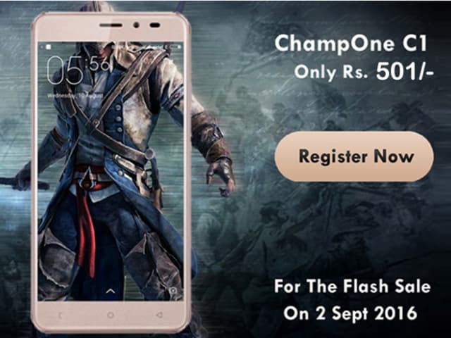 Freedom 251 rerun: ChampOne to sell C1 smartphone at Rs 501