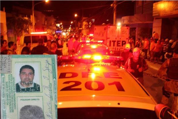 Alcivan Esdio de Sousa, 45 anos, morreu na hora (Foto: Marcelino Neto)