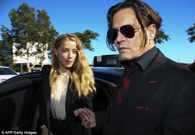 Controversy: The video was reportedly taken before the May 21 incident when Heard claimed that Depp assaulted her and bruised her face.