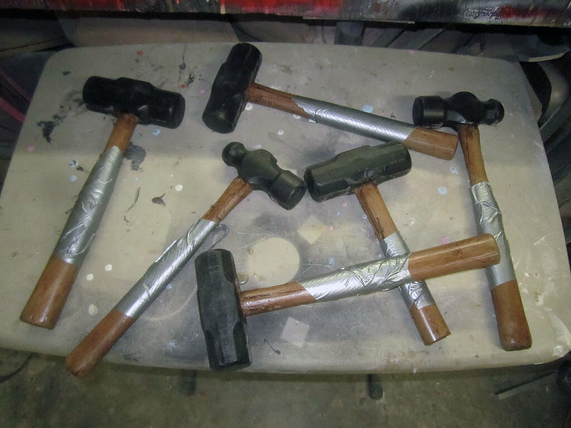 Stunt Hammers Nearly Done