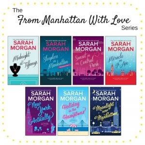 { Moonlight over Manhattan by Sarah Morgan - TLC Book Tour }