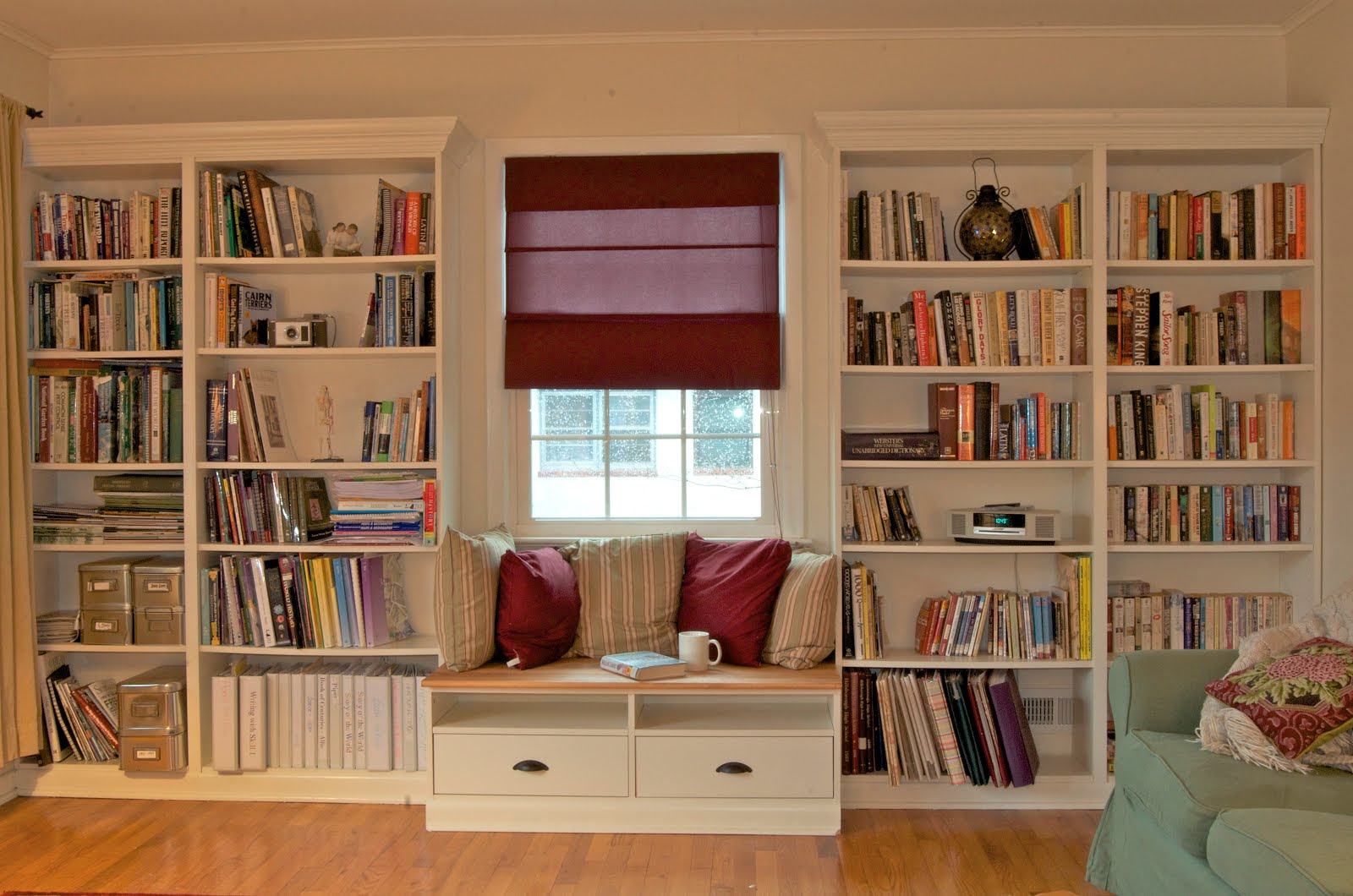 Living Room with a Window Seat, All Rooms / Living Photos / Living ...