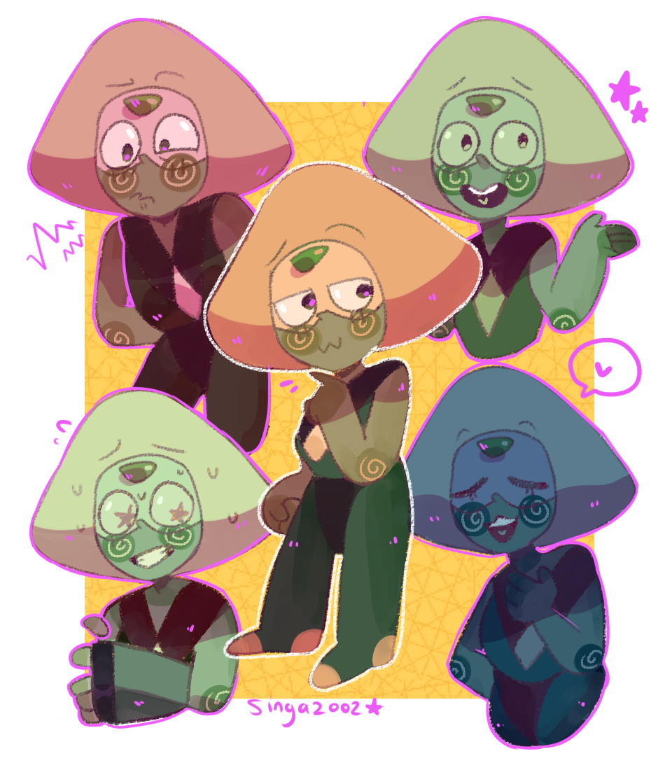 A bunch of Peridots for all your Peri needs
