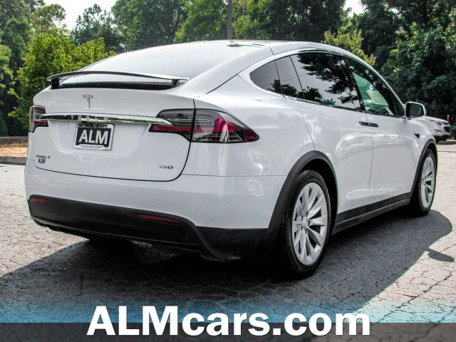 Pre Owned 2017 Tesla Model X 75d With Navigation Awd