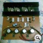 amp 500w bộ khuếch đại công suất bjt