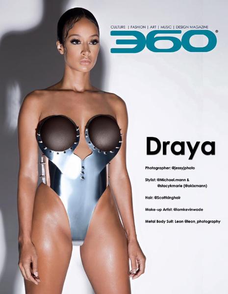 Fierce! Draya Michele flaunts banging body for 360 magazine(Photos)