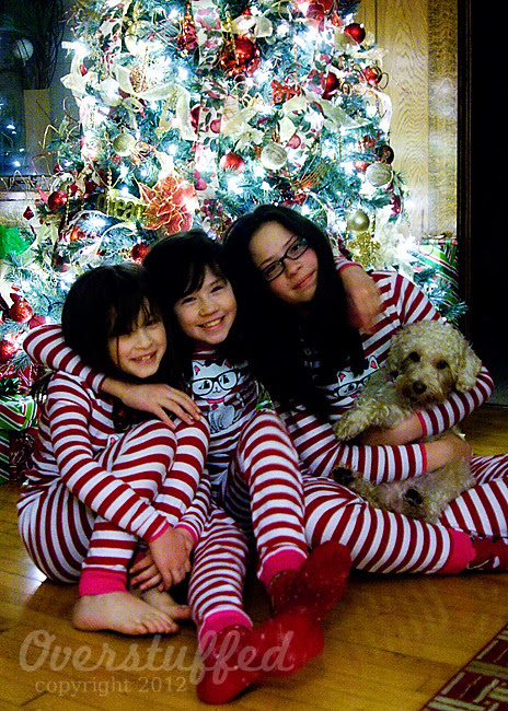 Christmas pajamas — a fun family Christmas tradition