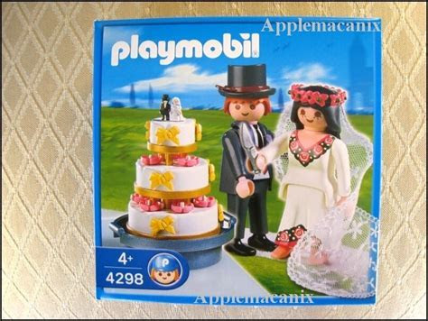 NIB/NEW/SEALED Playmobil 4298 Bride and Groom   Bridal