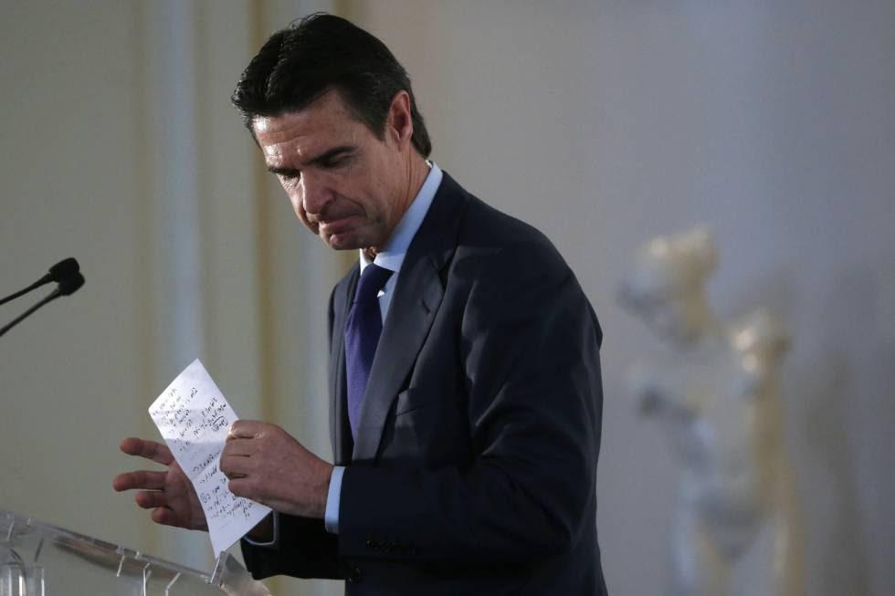 El ministro de Industria, José Manuel Soria, en el foro Spain Investors Day.