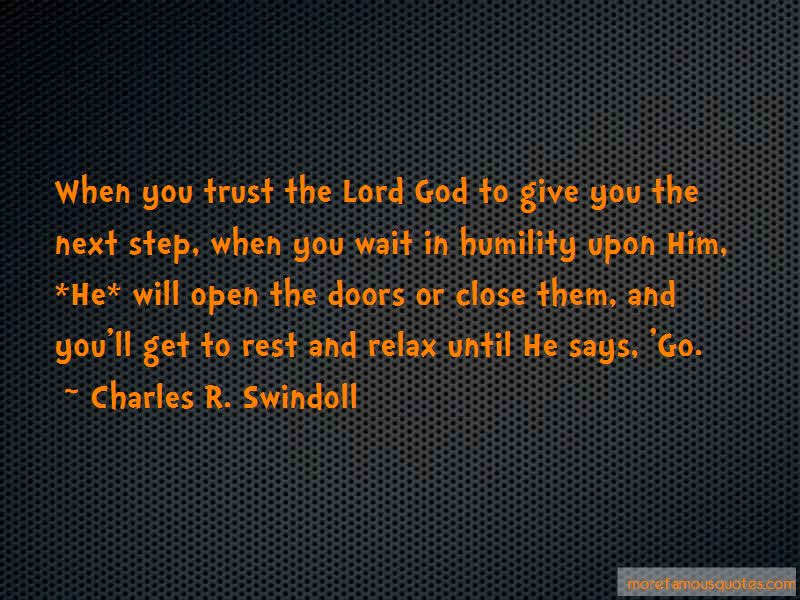 Quotes About Trust The Lord Top 54 Trust The Lord Quotes From