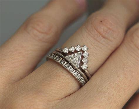 Best 25  Trillion Engagement Ring ideas on Pinterest