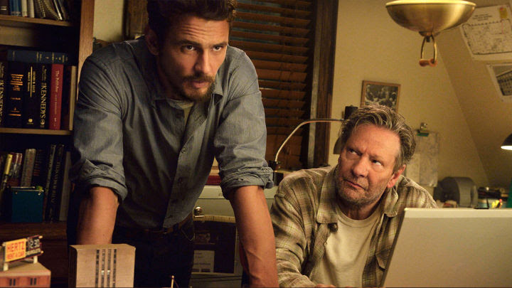 James Franco and Chris Cooper in 11.22.63