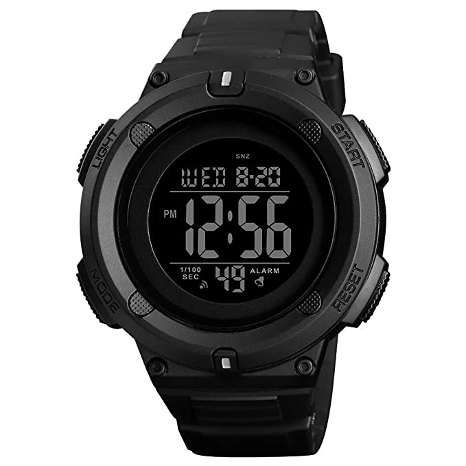 Men's Digital Sports Watch LED Screen