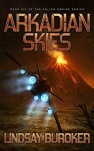 Arkadian Skies by Lindsay Buroker