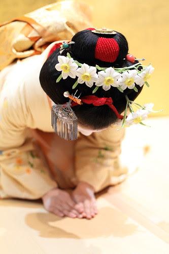 Suisen Kanzashi by Teruhide Tomori (◠‿◠)