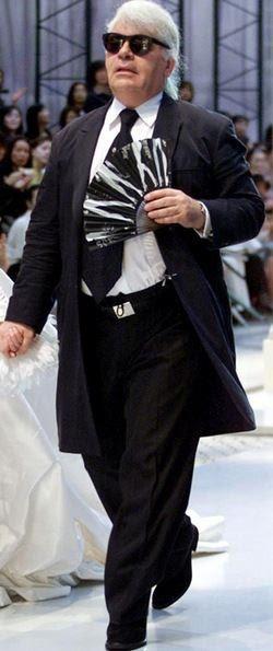 Round Karl Lagerfeld