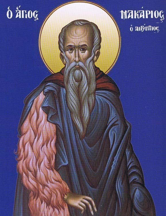 ST. MACARIUS the Great of Egypt