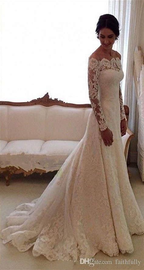 Best 25  Lace wedding gowns ideas on Pinterest   Lace