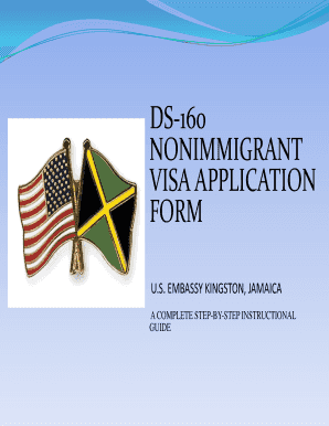 Sample Of Ds 160 Form Fill Online Printable Fillable