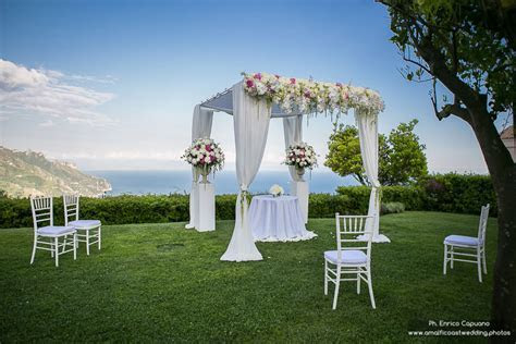 Renewal of Wedding Vows Ceremony at Belmond Caruso   Ravello