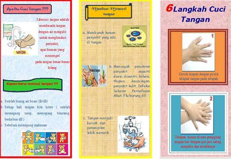 sap leaflet cuci tangan notesputih