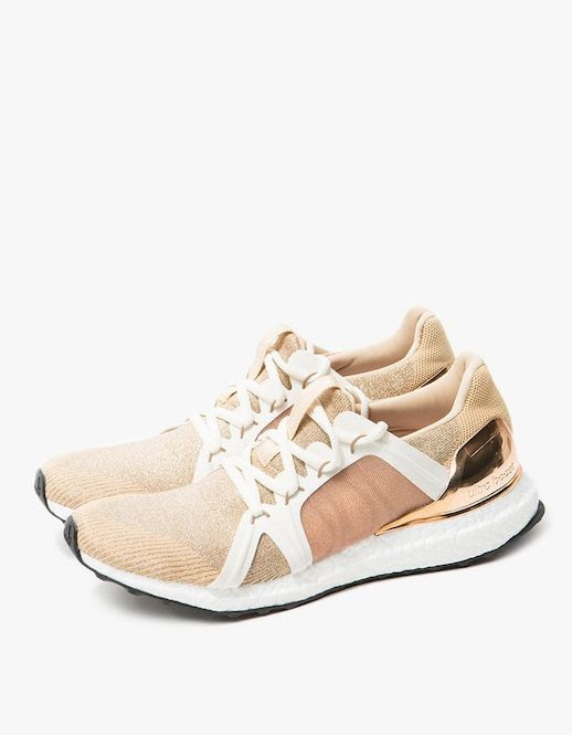 Le Fashion Blog Casual Fall Style Adidas By Stella McCartney Ultra Boost In Copper Metallic Sneakers Via Need Supply