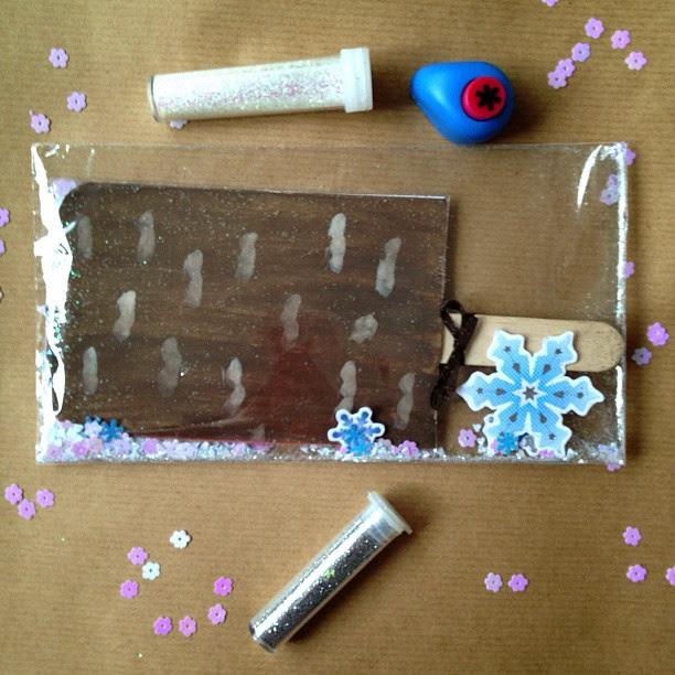 #feast #icecream #icelolly #confetti #snowflakes #snailmail #glitter #elevatedenvelope