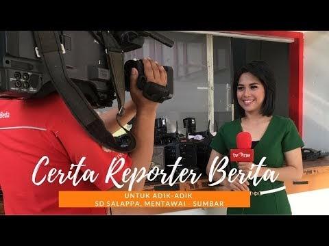 #VlogNews || Cerita Reporter Berita untuk Adik-adik SD Salappa - Mentawai