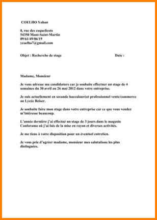 Exemple Lettre De Motivation Commerce Vente