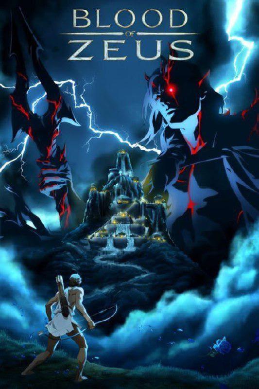 Blood of Zeus Season 01 (2020)  480p 720p WebRip Dual Audio (Hindi+English) | Netflix Anime Series
