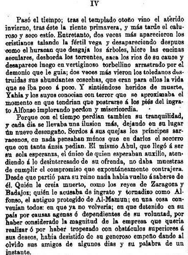 Leyenda de La Peña del Moro publicada en La Amérca por Eugenio de Olavarria y Huarte. Página 11