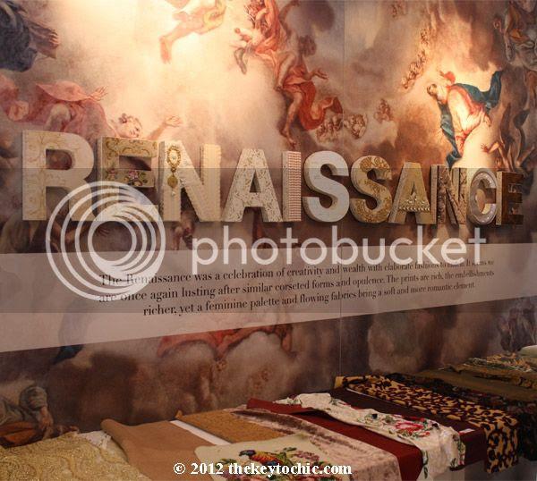 Renaissance fashion trend 2013-2014