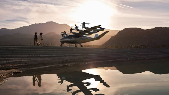Flying Taxis Will Hit LA Skies by 2024, According to a California Startup's Plan
