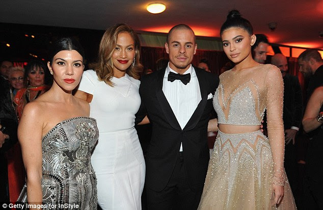 Keeping Up With The Kardashians: JLo and Casper chatted to Kourtney Kardashian and Kylie Jenner