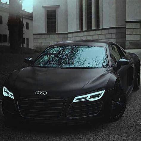 Audi R8 matte black with indiglo headlights   Goals   Pinterest   Negro, Armaduras y Audi