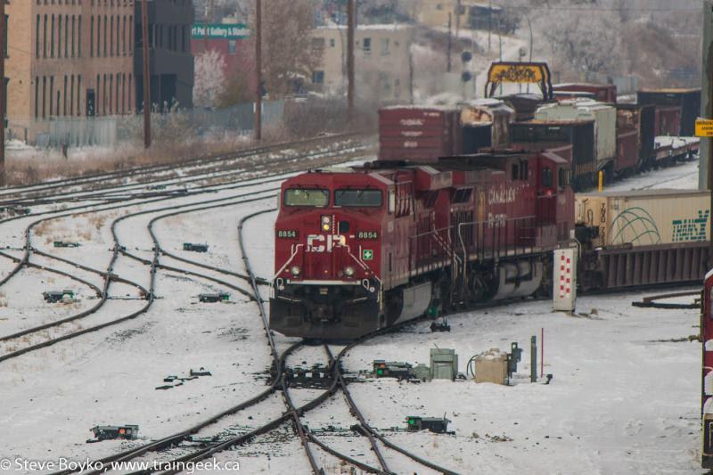CP 8854 in Calgary
